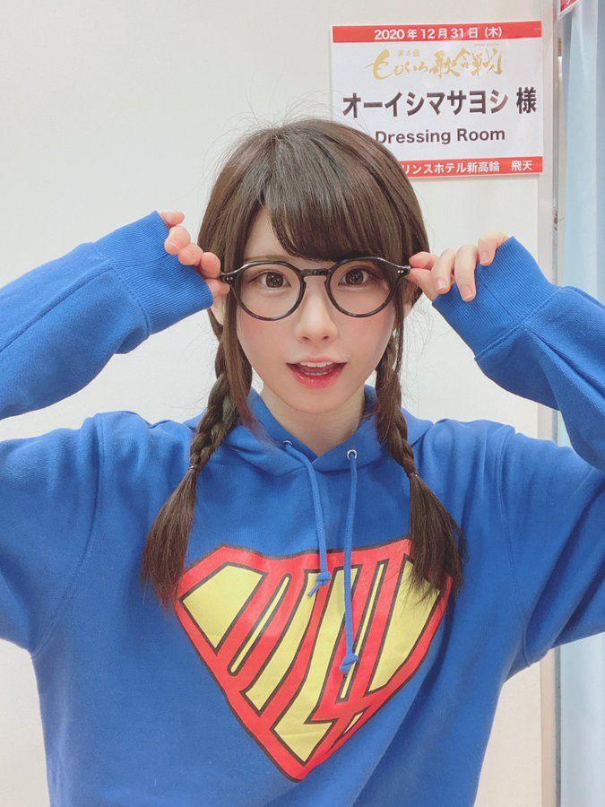 コスプレイヤーえなこ「メガネ姿が可愛すぎる!」アニソンシンガー・オーイシマサヨシとコラボ【画像4枚】の画像002
