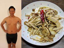 18キロ痩せ!!はんにゃ川島の「レンジで4分『いろいろキノコのマリネ』」【最強だしパックダイエット】