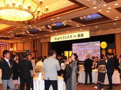 日本水商売協会主催「ナイトフェスタin銀座」イベントに美人ママ50名がズラリ