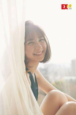 HKT48松岡菜摘の本誌未掲載カット5枚を大公開!【EX大衆1月号】