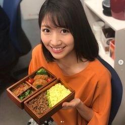 三田友梨佳アナ、手作り弁当公開で「実家譲りの腕前」と絶賛の嵐
