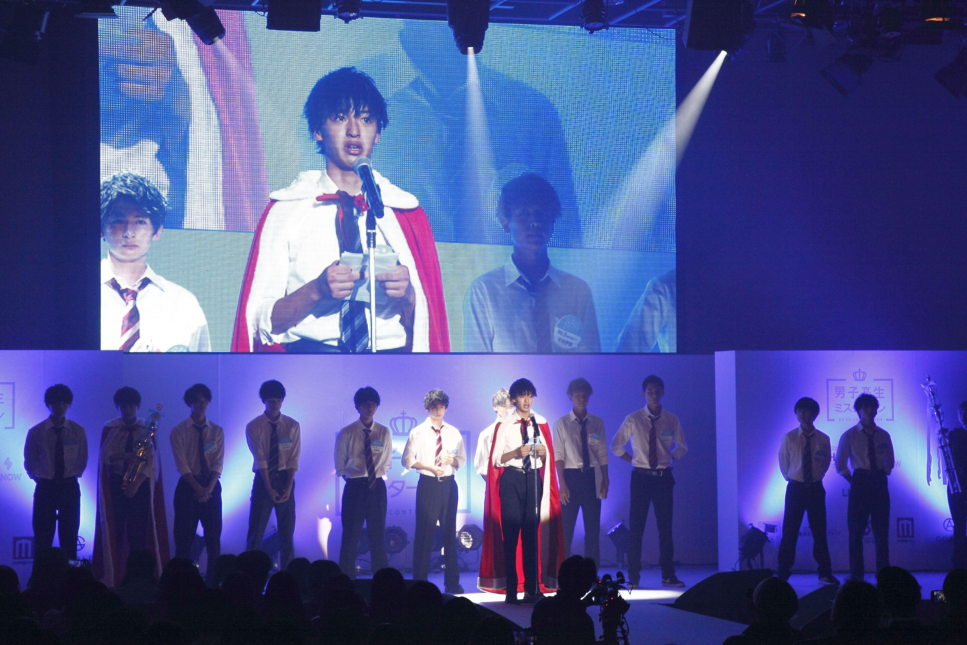 イケメン揃いの中から「日本一のイケメン男子高校生」が決定!の画像001