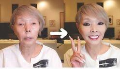 研ナオコ「究極の顔面変化」100万回動画と超一流タレントの証明